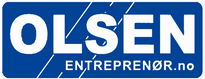 Logo, OLSEN ENTREPRENØR AS